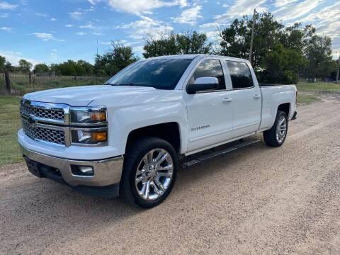 2015 Chevrolet Silverado 1500 for sale at TNT Auto in Coldwater KS