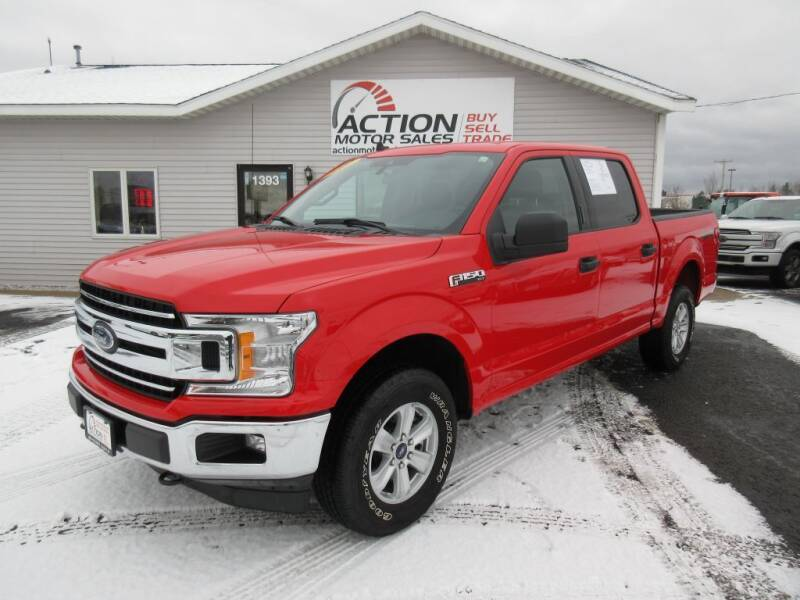 2020 Ford F-150 for sale at Action Motor Sales in Gaylord MI
