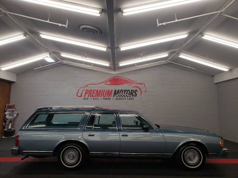 1978 Chevrolet Caprice for sale at Premium Motors in Villa Park IL