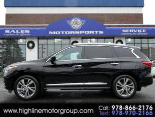 2013 Infiniti JX35 for sale at Highline Group Motorsports in Lowell MA