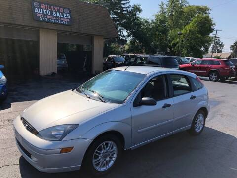 2003 Ford Focus for sale at Billy Auto Sales in Redford MI