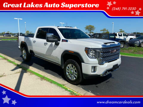 2021 GMC Sierra 3500HD for sale at Great Lakes Auto Superstore in Waterford Township MI