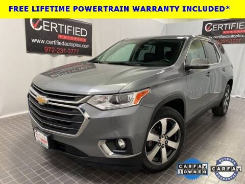 2019 Chevrolet Traverse for sale at CERTIFIED AUTOPLEX INC in Dallas TX