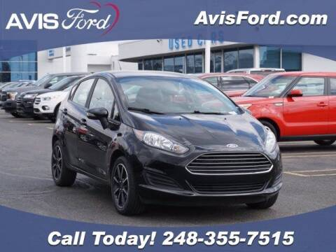 2019 Ford Fiesta for sale at Work With Me Dave in Southfield MI
