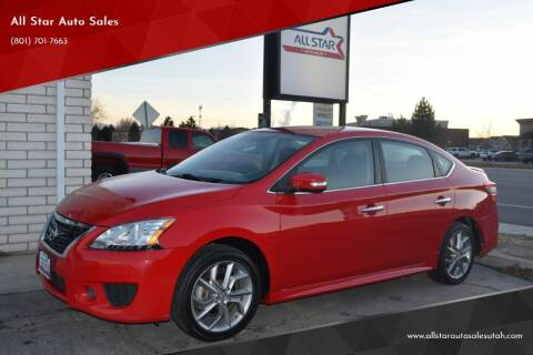 2015 Nissan Sentra for sale at All Star Auto Sales in Pleasant Grove UT