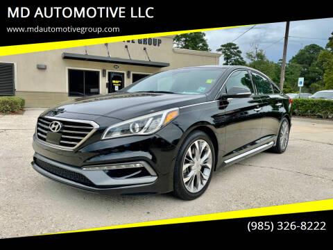 2015 Hyundai Sonata for sale at MD AUTOMOTIVE LLC in Slidell LA