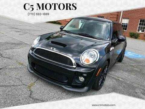 2012 MINI Cooper Hardtop for sale at C5 Motors in Marietta GA