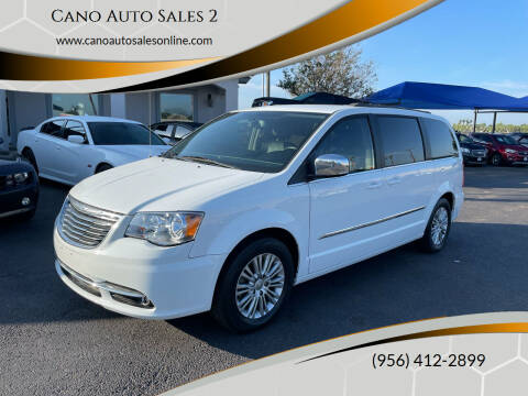 2015 Chrysler Town and Country for sale at Cano Auto Sales 2 in Harlingen TX