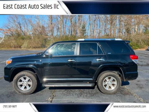 2011 Toyota 4Runner for sale at East Coast Auto Sales llc in Virginia Beach VA