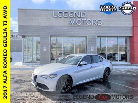 2017 Alfa Romeo Giulia for sale at Legend Motors of Detroit - Legend Motors of Waterford in Waterford MI