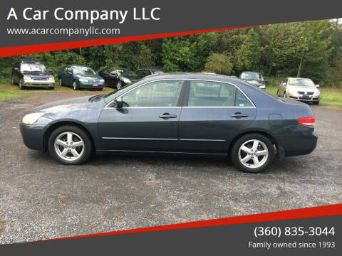 2004 Honda Accord for sale at A Car Company LLC in Washougal WA