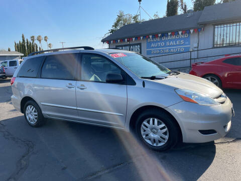 2009 Toyota Sienna for sale at Blue Diamond Auto Sales in Ceres CA