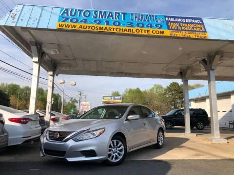 2016 Nissan Altima for sale at Auto Smart Charlotte in Charlotte NC