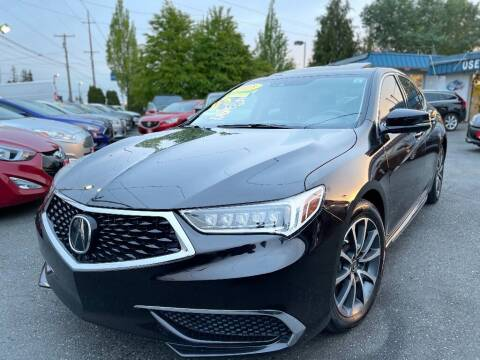 2018 Acura TLX for sale at Real Deal Cars in Everett WA