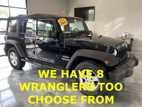 2011 Jeep Wrangler Unlimited for sale at Crossroads Car & Truck in Milford OH