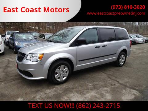 2012 RAM C/V for sale at East Coast Motors in Lake Hopatcong NJ