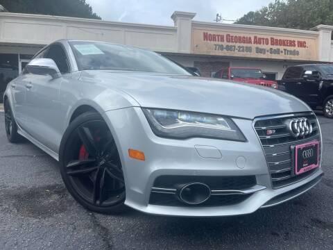 2013 Audi S7 for sale at North Georgia Auto Brokers in Snellville GA