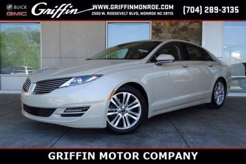2016 Lincoln MKZ for sale at Griffin Buick GMC in Monroe NC