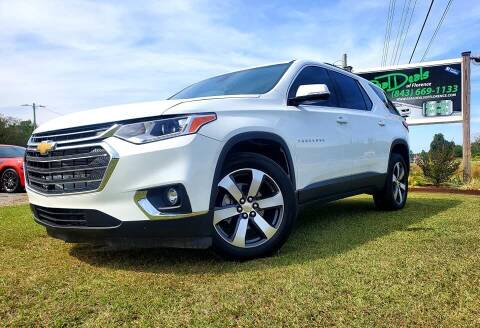2020 Chevrolet Traverse for sale at Real Deals of Florence, LLC in Effingham SC