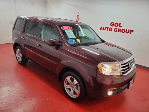 2012 Honda Pilot for sale at GOL Auto Group in Austin TX