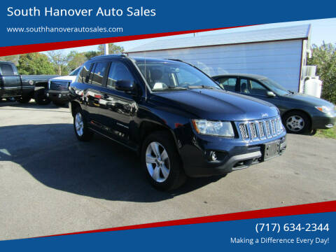 2014 Jeep Compass for sale at South Hanover Auto Sales in Hanover PA