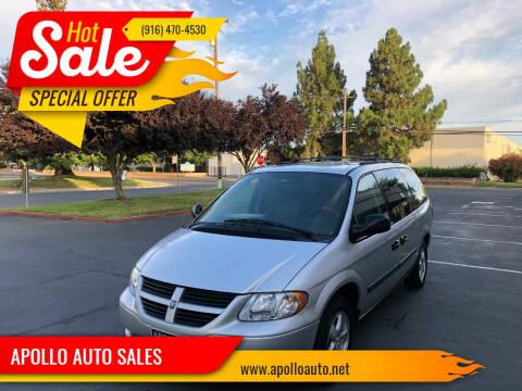 2007 Dodge Grand Caravan for sale at APOLLO AUTO SALES in Sacramento CA