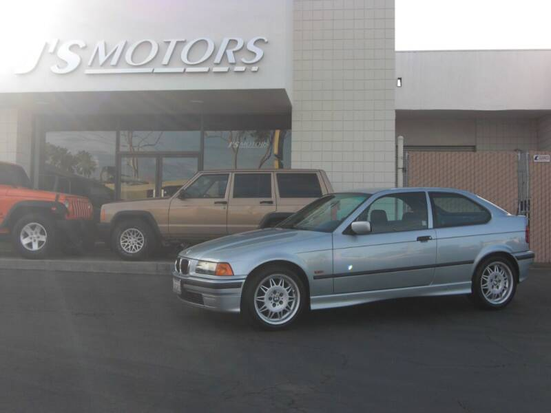 1997 BMW 3 Series for sale at J'S MOTORS in San Diego CA