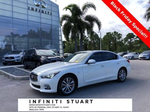 2017 Infiniti Q50 for sale at Infiniti Stuart in Stuart FL