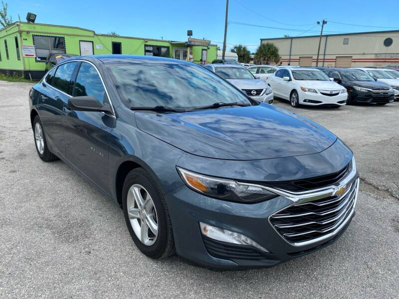 2019 Chevrolet Malibu for sale at Marvin Motors in Kissimmee FL