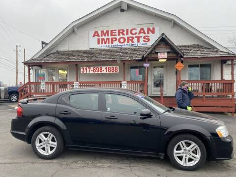 2012 Dodge Avenger for sale at American Imports INC in Indianapolis IN
