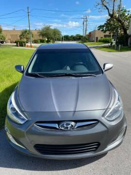 2014 Hyundai Accent for sale at Roadmaster Auto Sales in Pompano Beach FL