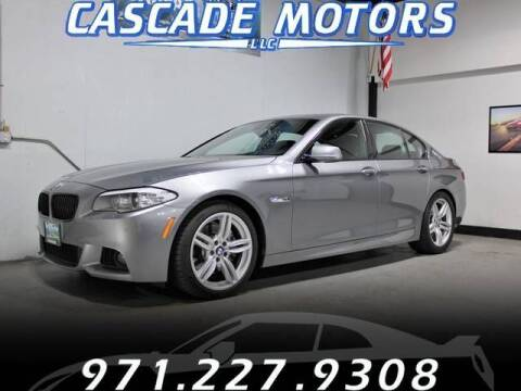 2013 BMW 5 Series for sale at Cascade Motors in Portland OR