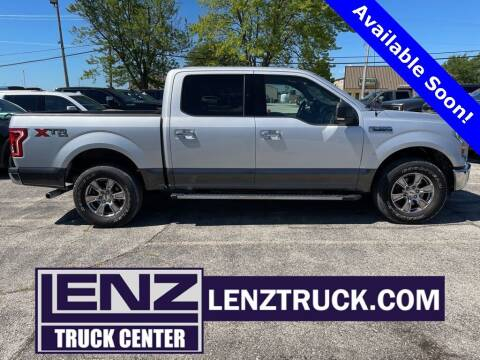 2015 Ford F-150 for sale at LENZ TRUCK CENTER in Fond Du Lac WI