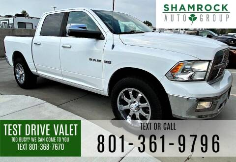 2010 Dodge Ram Pickup 1500 for sale at Shamrock Group LLC #1 in Pleasant Grove UT