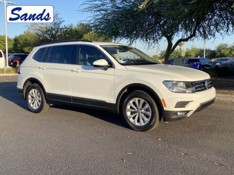 2018 Volkswagen Tiguan for sale at Sands Chevrolet in Surprise AZ