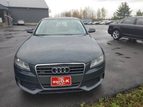 2011 Audi A4 for sale at eurO-K in Benton ME