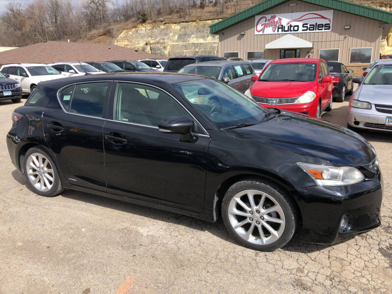 2012 Lexus CT 200h for sale at Gilly's Auto Sales in Rochester MN
