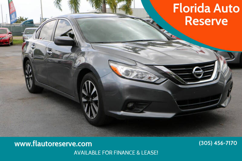 2018 Nissan Altima for sale at Florida Auto Reserve in Medley FL