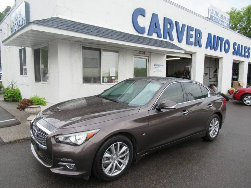 2015 Infiniti Q50 for sale at Carver Auto Sales in Saint Paul MN