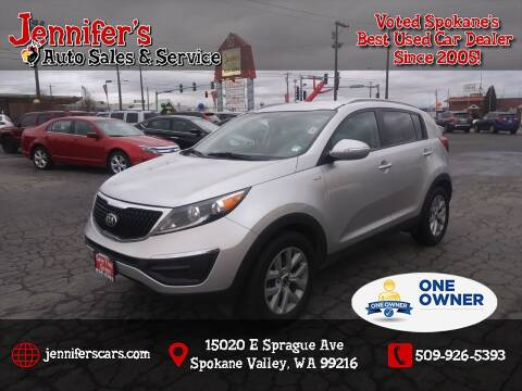2014 Kia Sportage for sale at Jennifer's Auto Sales in Spokane Valley WA