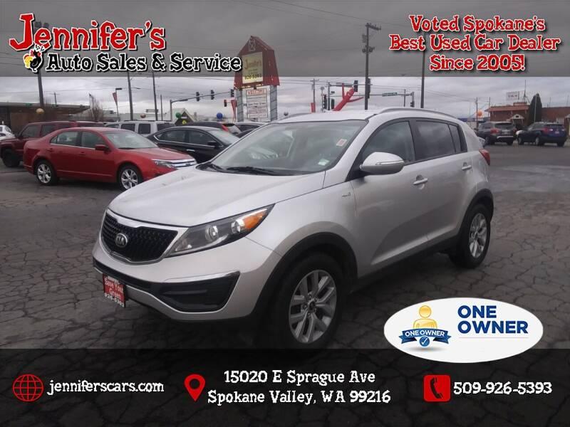 2014 Kia Sportage for sale at Jennifer's Auto Sales in Spokane Valley WA