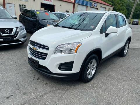 2016 Chevrolet Trax for sale at THE AUTOMOTIVE CONNECTION in Atkins VA