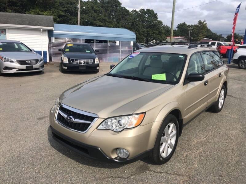 2008 Subaru Outback for sale at U FIRST AUTO SALES LLC in East Wareham MA