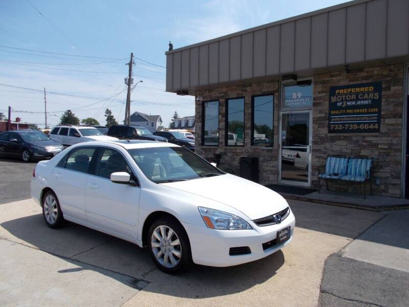 2007 Honda Accord for sale at Preferred Motor Cars of New Jersey in Keyport NJ