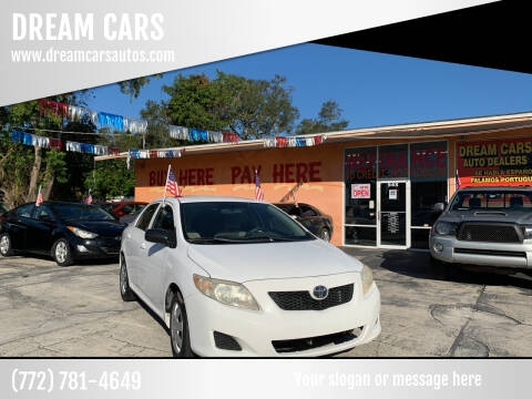 2009 Toyota Corolla for sale at DREAM CARS in Stuart FL