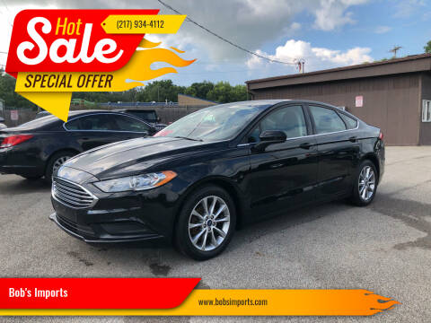 2017 Ford Fusion for sale at Bob's Imports in Clinton IL