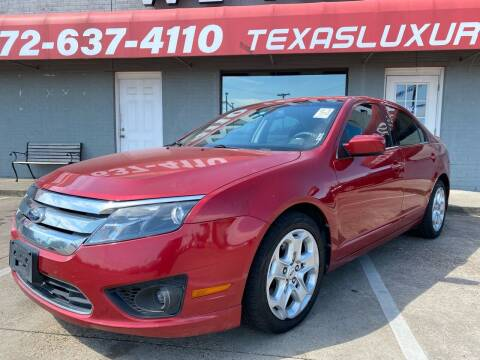 2011 Ford Fusion for sale at Texas Luxury Auto in Cedar Hill TX