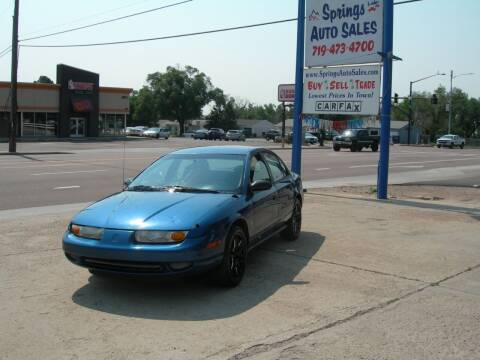 2002 Saturn S-Series for sale at Springs Auto Sales in Colorado Springs CO