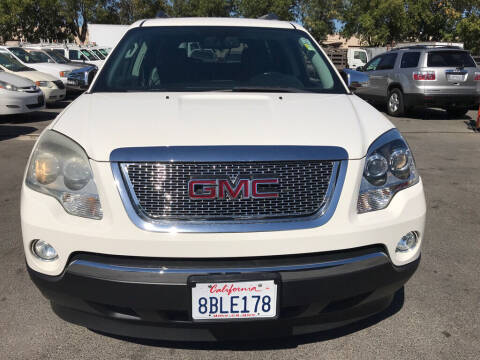 2011 GMC Acadia for sale at EXPRESS CREDIT MOTORS in San Jose CA