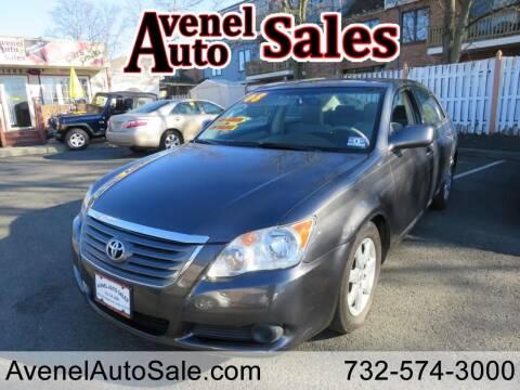 2008 Toyota Avalon for sale at Avenel Auto Sales in Avenel NJ